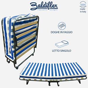 Brandina letto pieghevole a doghe con materasso waterfoam h 10 cm modello dali 39 ebay - Letto pieghevole con materasso ...