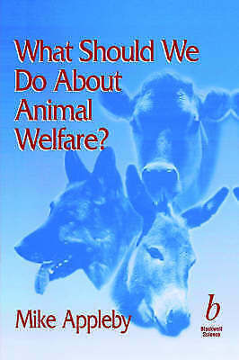 1 of 1 - What Should We Do About Animal Welfare, Appleby, Used; Good Book