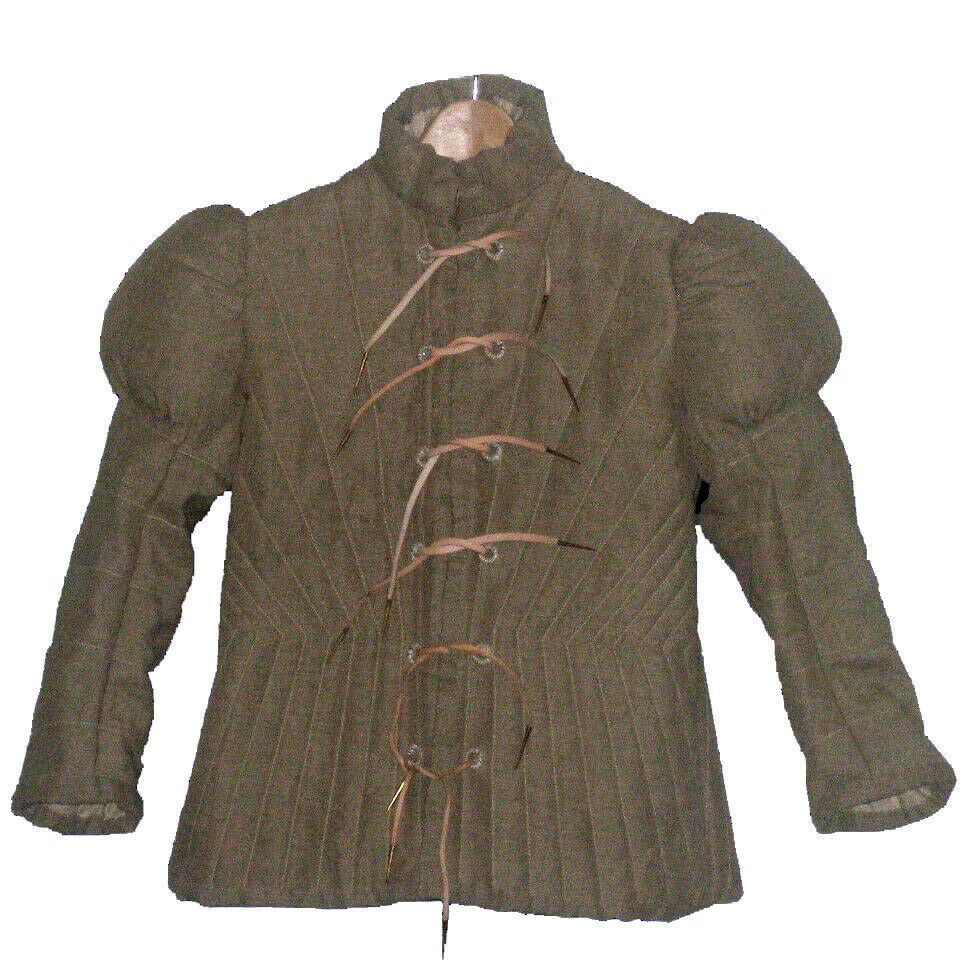 Renaissance Gambeson For Armor Reproduction Padded Full Sleeve Halloween Gift