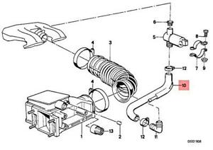 BMW Genuine Air Flow Sensor//Fuel Injection Hose For 3 Series E46 13411247910