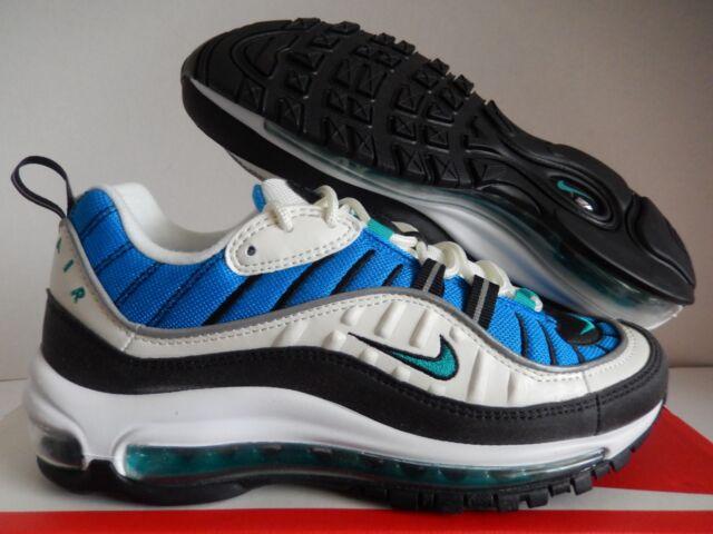 the best attitude 94db0 5c80b WMNS Nike Air Max 98 Blue Nebula Radiant Emerald Running ( Ah6799 106 )  Size 8