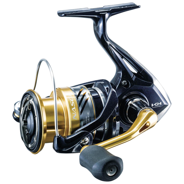 SHIMANO NASCI 2500 Spinning Rulle NAS2500FB