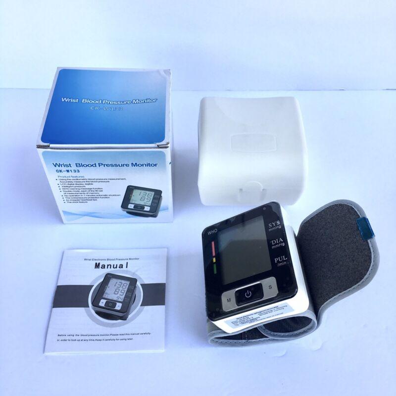 Wrist Blood Pressure Monitor and Cuff CK-W133 Wrist Electronic Sphygmomanometer