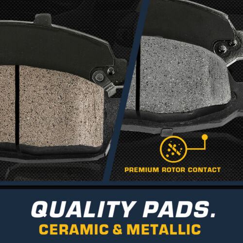 Front And Rear Rotors /& Ceramic Pads For 2000 2001 2002 2003 2004 Toyota Avalon