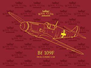 Eduard-Royal-Class-1-48-Messerschmitt-Bf-109-F-Dual-Combo-deux-avions-Model-Kit