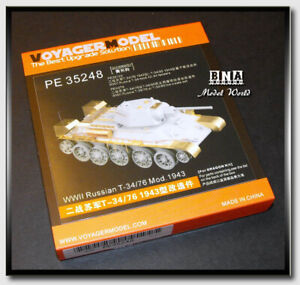 Voyager-1-35-WWII-Russian-T-34-76-Mod-1943-Upgrade-Set-for-Dragon-PE35248