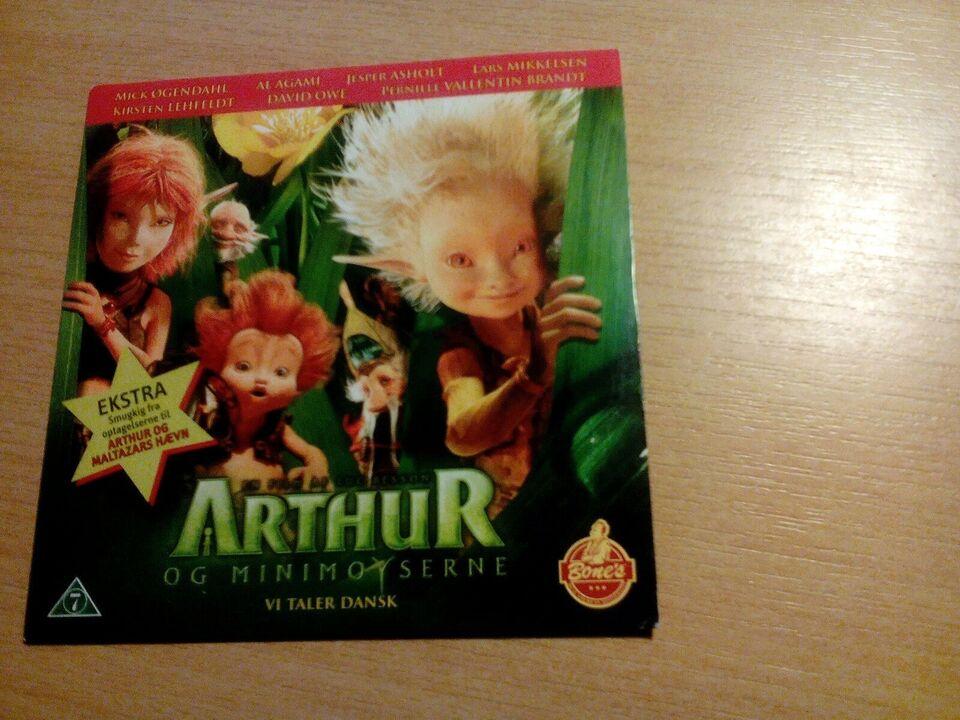 Arthur og minimoyserne, DVD, animation