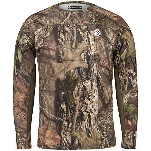 ScentLok Men's Nexus Active Weight Hunting Shirt, Mossy Oak Break-Up Country, Me