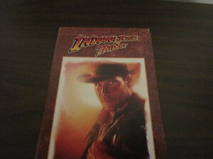 Indiana Jones Trilogy Raiders Boxed Set Good Condition Harrison Ford 3 Movies