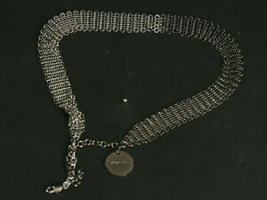 MAC-COSMETICS-EMPLOYEE-CHAINMAIL-NECKLACE-OR-BRACELET-NEW-IN-PACKAGE