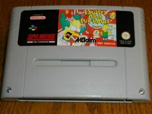 Krusty-039-s-super-FUN-HOUSE-pour-super-Nintendo-snes