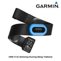 Garmin Hrm-tri Heart Rate Transmitter & Strap For Swimming Running Cycling