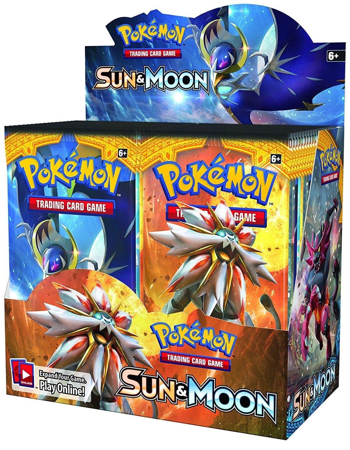 Pokemon Sun & Moon Booster Box Factory Sealed