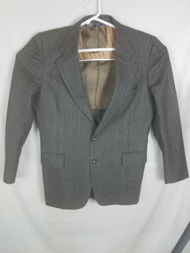 70/'s Cricketeer Men/'s Black Sport Coat