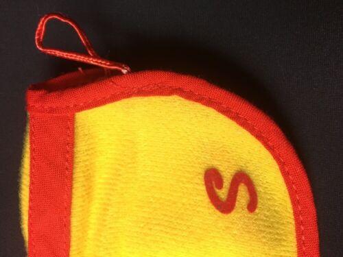 """Sindy Puledro 1984 Coat 44250 Giallo Rosso Cavallo Aperto Logo 12/"""" Bambola Accessorio 1:6"""