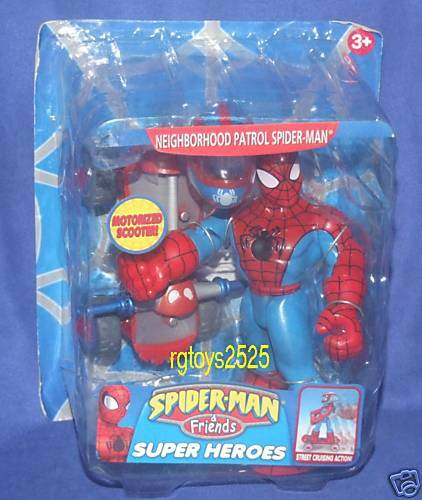 Spiderman & Friends Neighborhood Patrol 6' Spider-Man New Factory Sealed