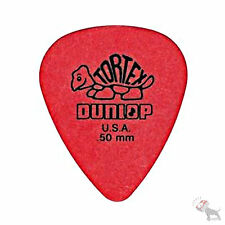 Jim Dunlop Guitar Tortex Picks 0.50 mm Red Picks 72 Pack Standard 418R50