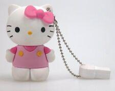 HELLO KITTY MEMORIA USB 8 GB  DRIVER LAPIZ ROSA ROSE PEN DRIVE USB 2.0 PENDRIVE