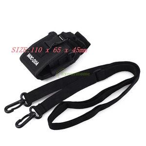 Nylon-Two-Way-Radio-Case-Holder-for-Walkie-Talkie-Motorola-GP344-328-338-HT750