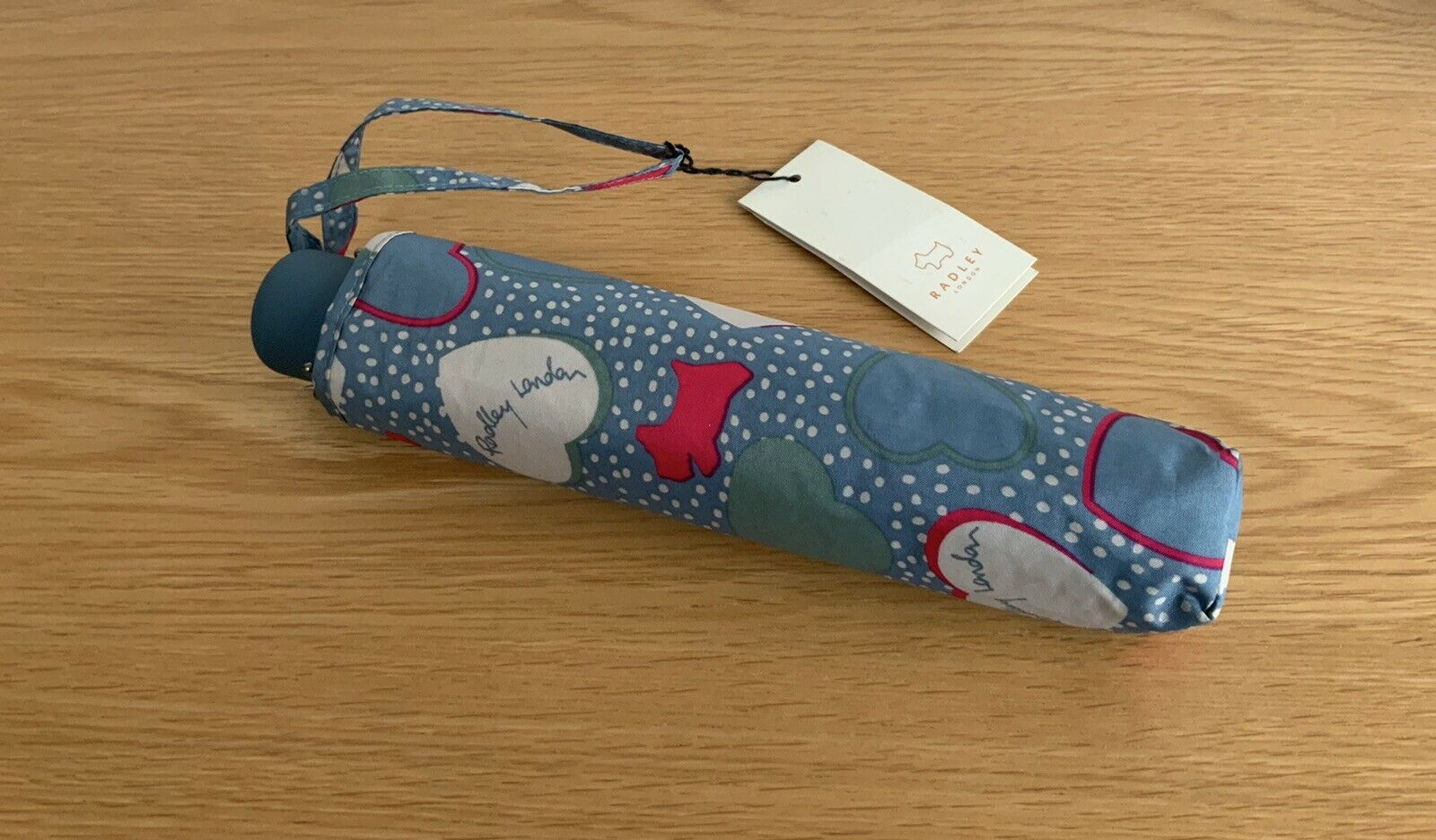 Radley London Blue Print Umbrella *BNWT* Great Gift