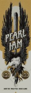 Pearl-Jam-Ken-Taylor-Wrigley-Field-Chicago-2016-Show-Edition-Poster