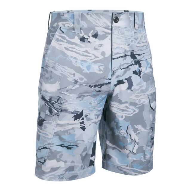 c37a2dc073 Under Armour Fish Hunter Cargo Shorts UPF 30 1244207-926 Hydro Gray ...