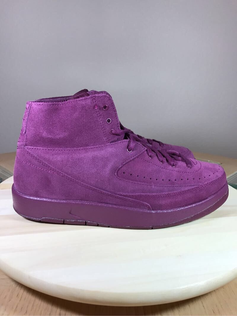 Air Jordan 2 Retro Deconstructed  Bordeaux  size 9