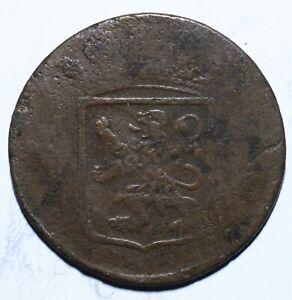 1790-VOC-Netherlands-East-Indies-One-1-Duit-Holland-Lot-457