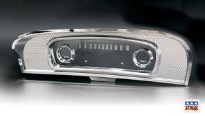 1965 1966 ford truck chrome dash instrument cluster bezel lens c5tz 10876 a ebay. Black Bedroom Furniture Sets. Home Design Ideas