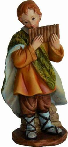 Krippen Markus Krippenfiguren Kind mit Panflöte für Figuren Größe ca.7cm