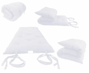 Image Is Loading White Twin Traditional Japanese Floor Rolling Futon Mattresses