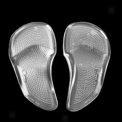 Footful 4 Paires Semelle Coussinnet en Gel de Silicone Soutien de La Vo/ûte Pour Pieds Plats