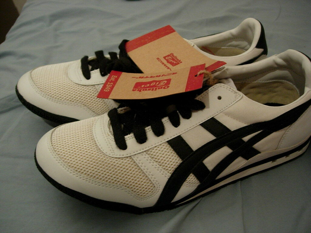 huge selection of 25a87 1be03 Asics Onitsuka Ultimate Ultimate Ultimate 81 White Black, Men 10.5 db756a