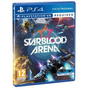 Starblood Arena Playstation Vr Ps4 Game Requires Playstation Vr To