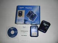 Allnet ALL168205 Powerline Power LAN, 200 Mbit, Bundle Ethernet Bridge 2-er Set