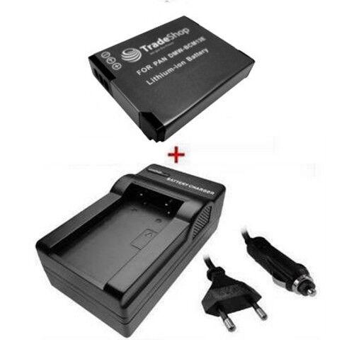 CARGADOR para Panasonic Lumix DMW tz60 tz61 tz70 tz71 Batería