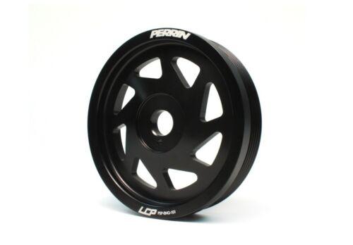 Black Perrin for 2013 Subaru BRZ  Scion FR-S Billet Aluminum Crank Pulley NEW