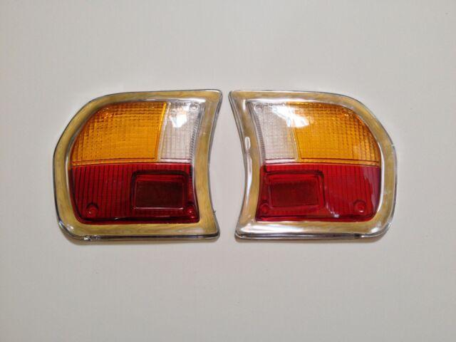Tail Light Lens Set for Peugeot 504 NEW !!  #222AB