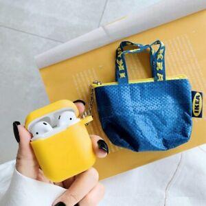 Luxury Mini Bag Ikea Protective Soft Silicone Case For Apple Airpods 1 2 Pro Ebay