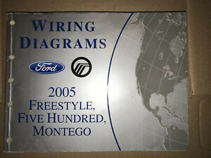 2005 Ford Freestyle Five Hundred Wiring Diagrams ...