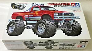 Tamiya RC 1 10 Toyota Hilux 4x4 Pickup Mountaineer 84386 Totalmente Nuevo