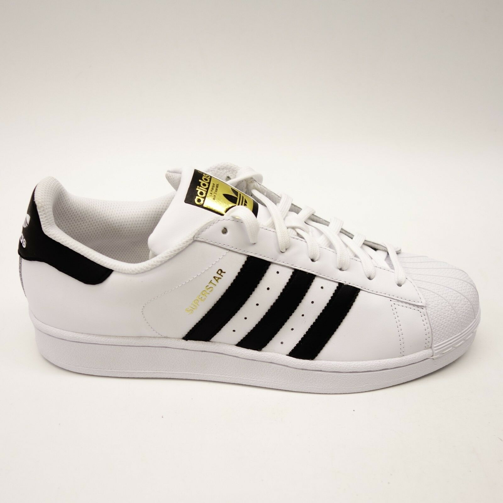 Adidas Originals Mens Superstar Foundation White Casual shoes Sizes 10