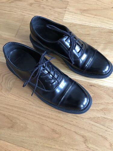 Dr. Martens Henrietta Leather Oxfords- Black - Siz