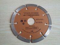 "115mm 4.5"" Dry Diamond Disc Cutting Blade Brick Masonry Concrete Angle Grinder"