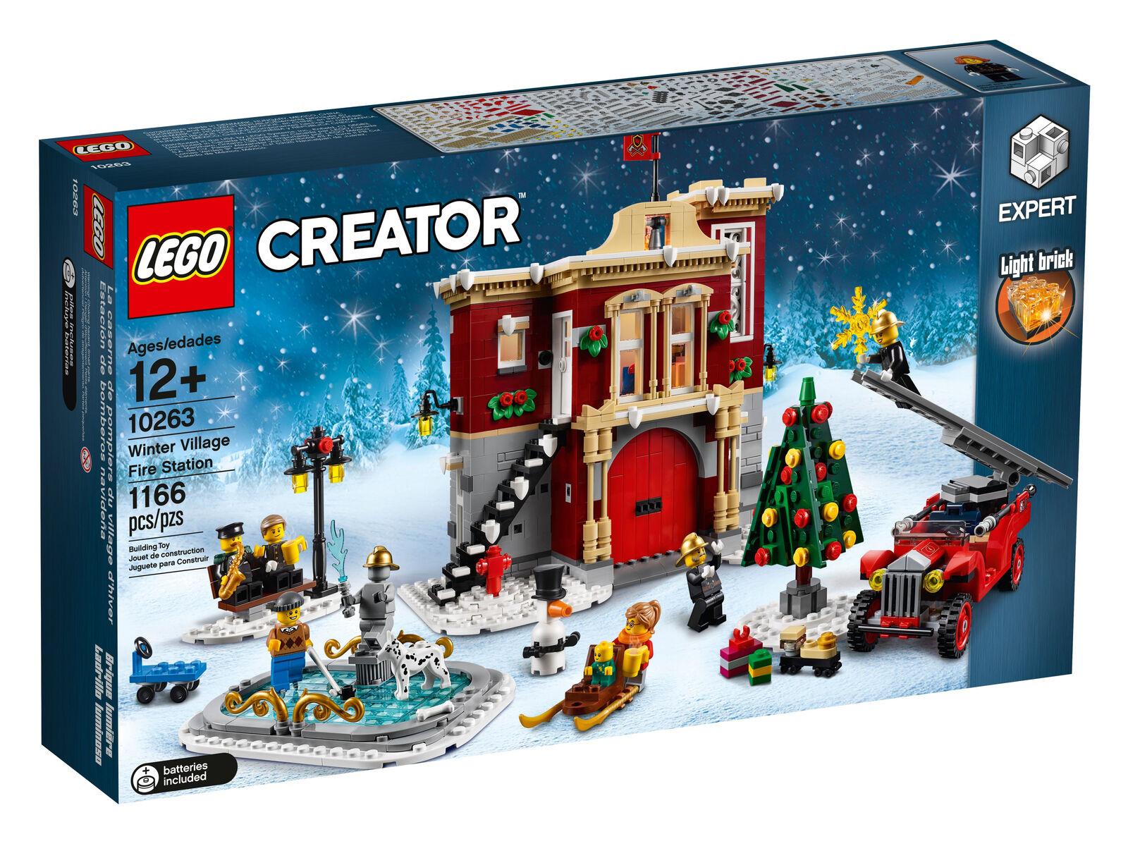 LEGO innevato pompieri  set (10263)  esclusivo