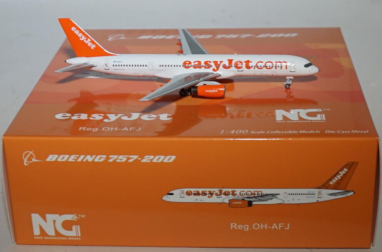 NG Model 53058 Boeing 757-28 a Easyjet Oh-AFJ dans 1 400 échelle