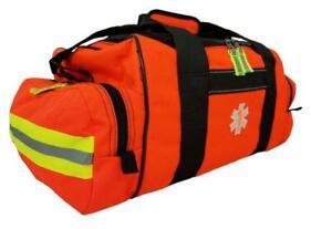 Elite First Aid First Responder Bag - Orange Fully Stocked Trauma Kit