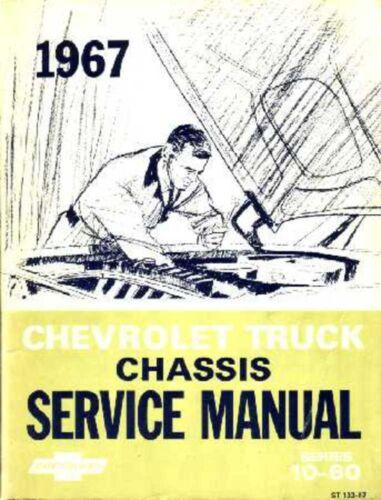 1967 Chevrolet Truck Shop Service Repair Manual Book Engine Drivetrain Wiring OE