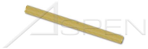 "10 pcs 1//4/""-20 X 3/' Threaded Rods Brass"