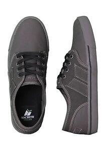 separation shoes b1a35 8a783 Details zu Macbeth Langley Skate Shoes Grey / Grey Vegan Footwear sizes UK  4-13